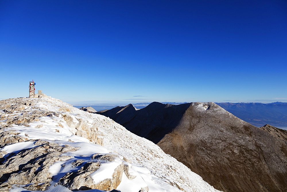 Mount Vihren, 2945m, Pirin National Park, UNESCO World Heritage Site, Bansko, Bulgaria, Europe