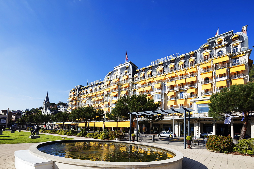 Palace Hotel, Montreux, Vaud, Switzerland, Europe