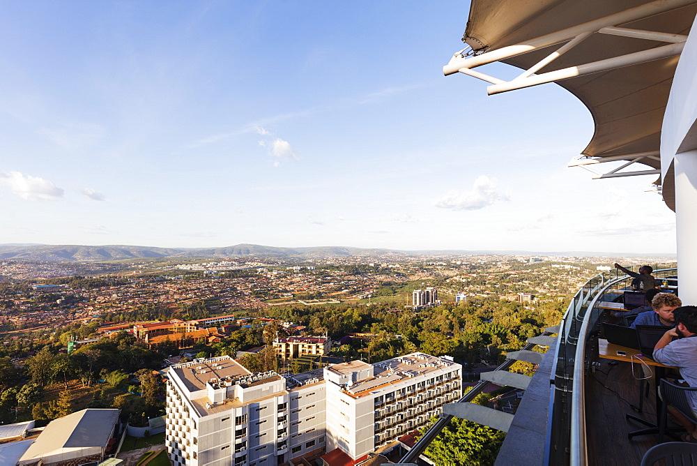 View from Ubumwe Grande Hotel, Kigali, Rwanda, Africa