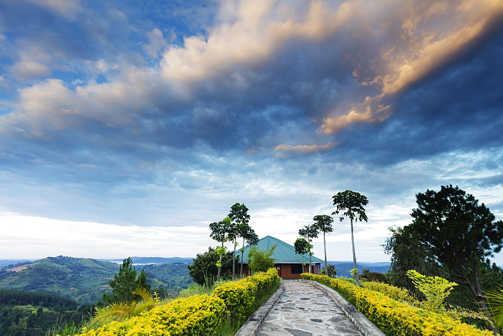 Top of the World resort, Uganda, Africa