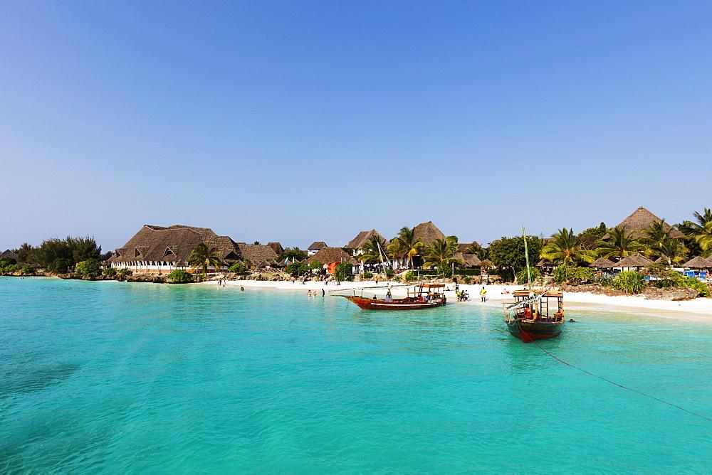 East Africa, Tanzania, Zanzibar island; Nungwi Beach resort