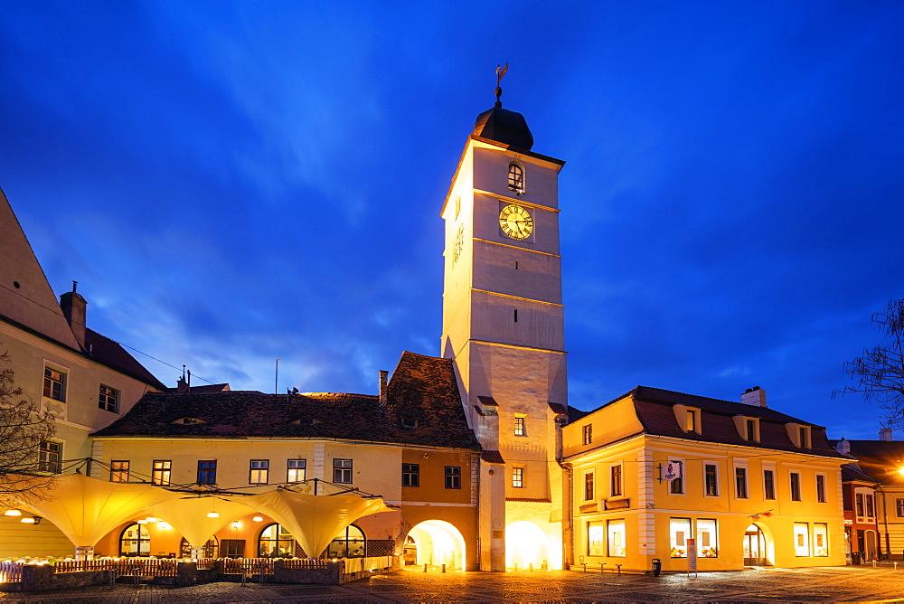 Old Town Hall, Sibiu, Romania, Europe