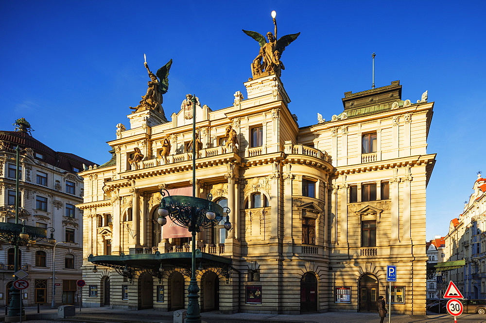 Vinohrady Theatre, Prague, Czech Republic, Europe