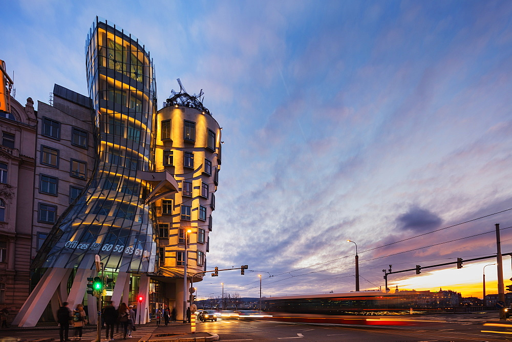 Dancing House, Prague, Czech Republic, Europe