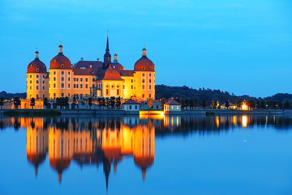 Moritzburg Castle, Saxony, Germany, Europe - 733-8020