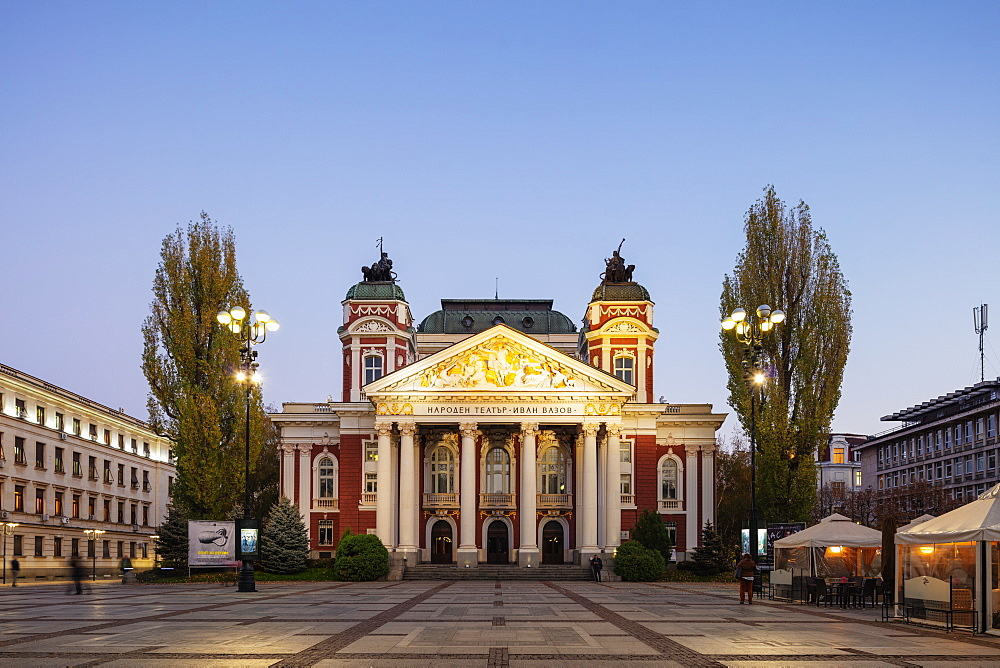 Eastern Europe, Bulgaria, Sofia, Ivan Vazov National Theatre - 733-8404