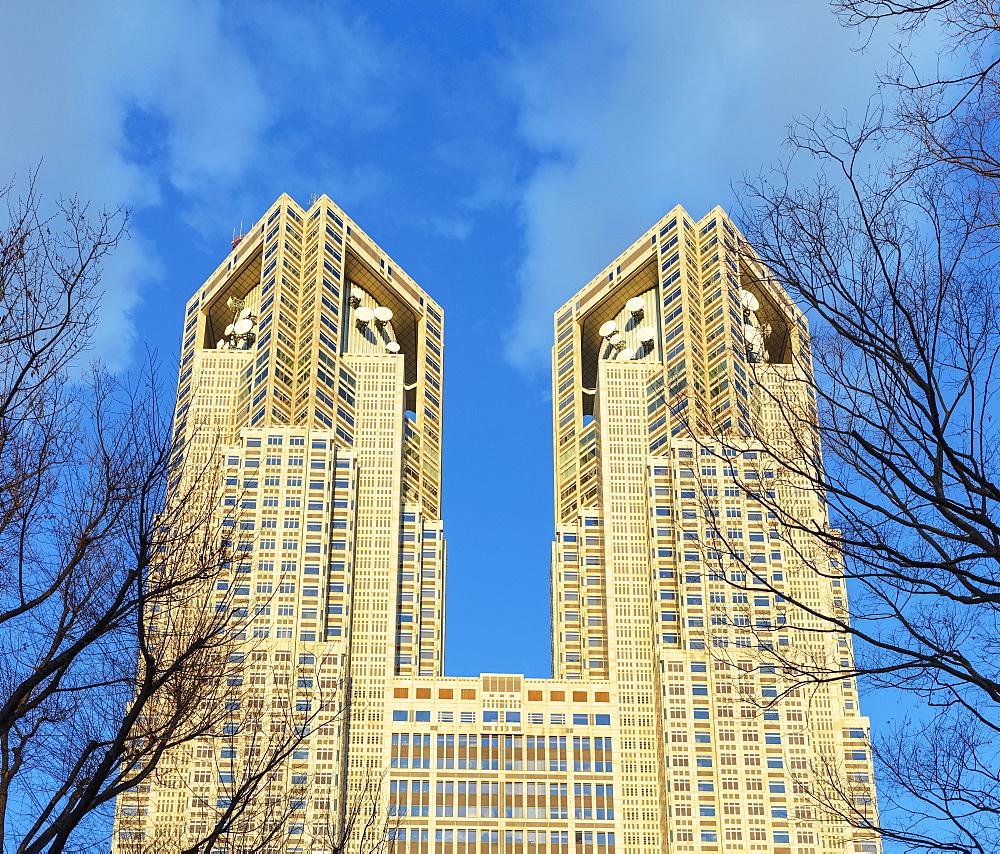 Tocho government building, Shinjuku, Tokyo, Japan, Asia