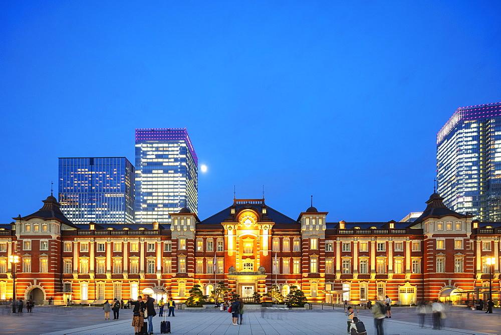 Asia, Japan, Tokyo, Tokyo station