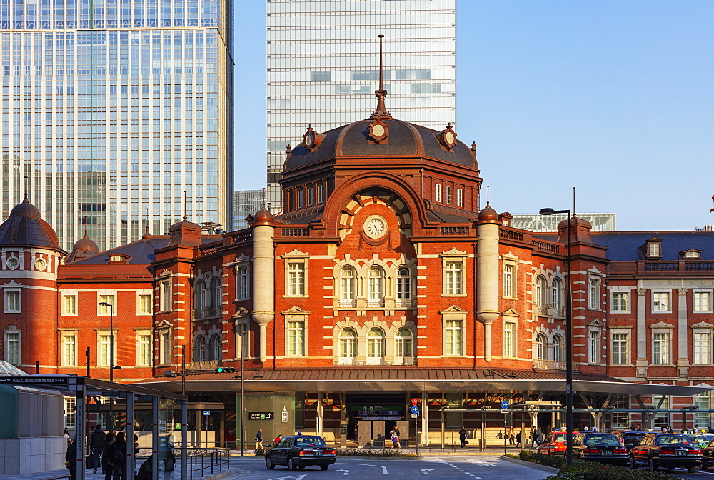 Tokyo station, Tokyo, Japan, Asia