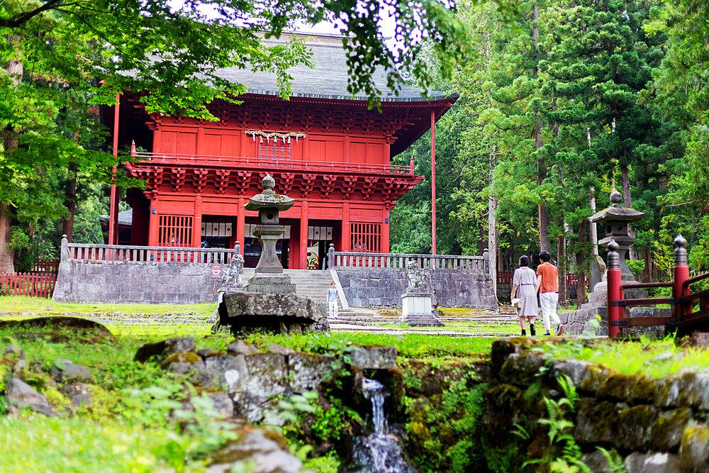Japan, Honshu, Tohoku, Aomori prefecture, Iwakisan jinja shrine
