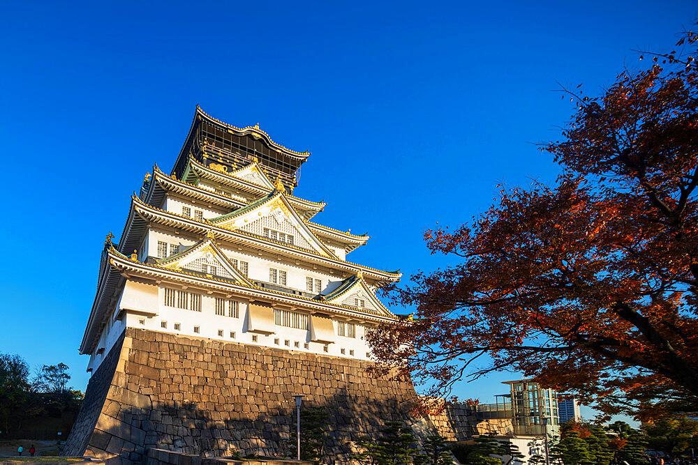 Japan, Kansai, Osaka, Osaka Castle