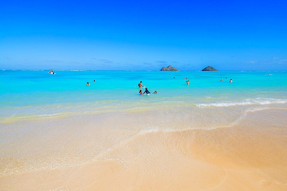 Waimanalo beach, Oahu Island, Hawaii, United States of America, North America