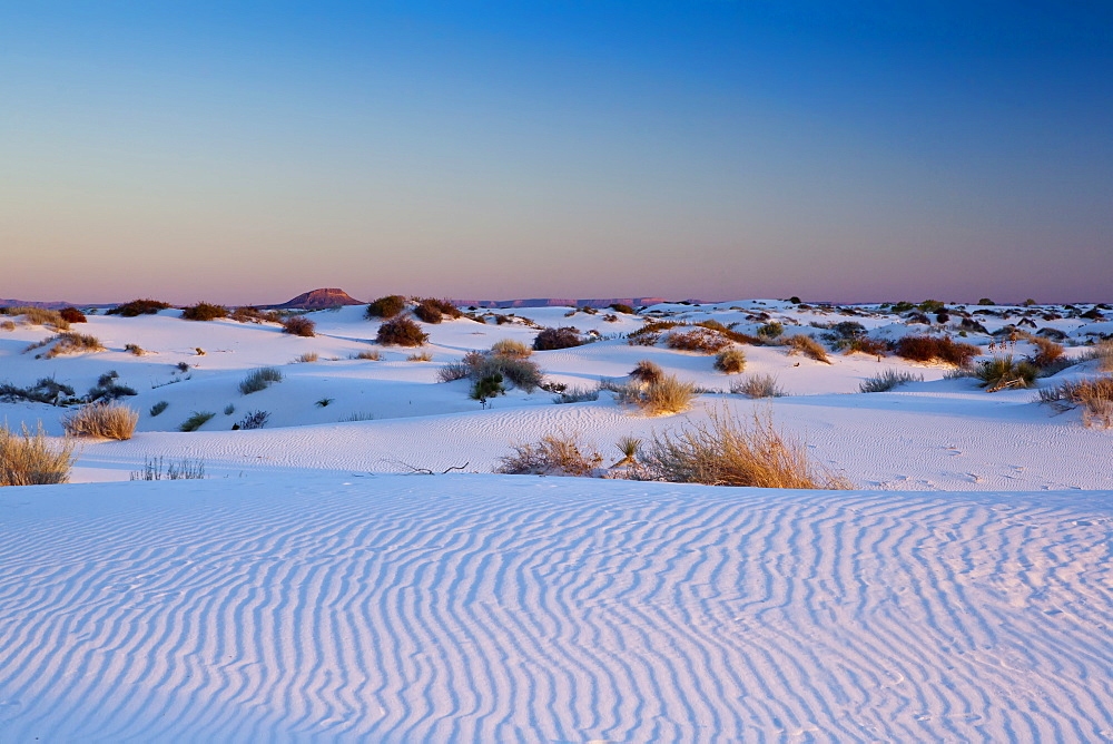 White Sands National Monument, New Mexico, United States of America, North America - 734-139