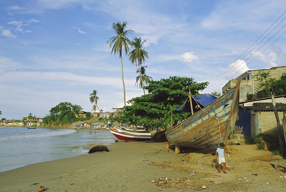 Main beach, San Juan de las Galdonas, Paria Peninsula, Venezuela, South America