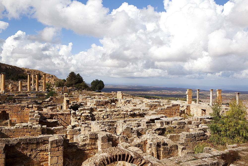 The Acropolis of Cyrene, UNESCO World Heritage Site, Libya, North Africa, Africa