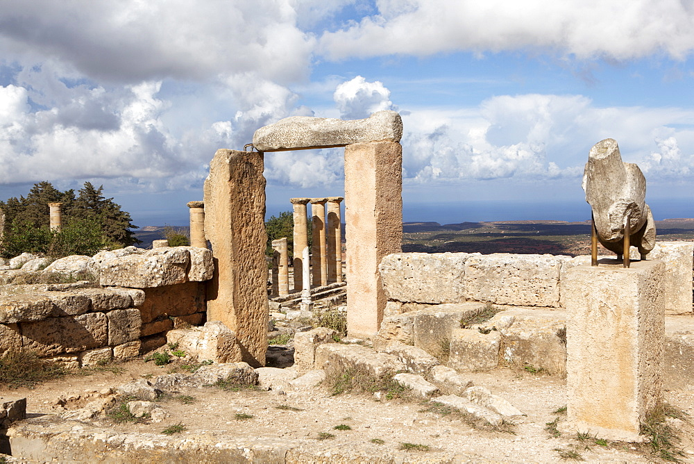Cyrene, UNESCO World Heritage Site, founded in 630 BC, Libya, North Africa, Africa