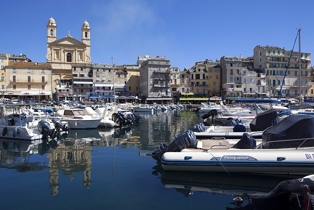 The port of Bastia, Corsica, France, Mediterranean, Europe