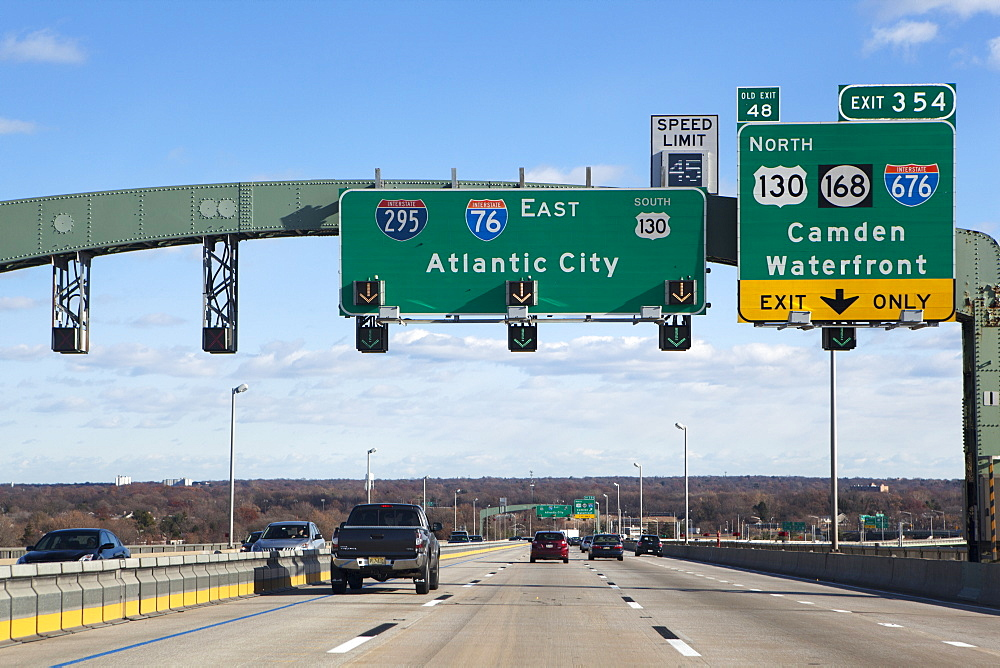 Going to Atlantic City, New Jersey, United States of America, North America