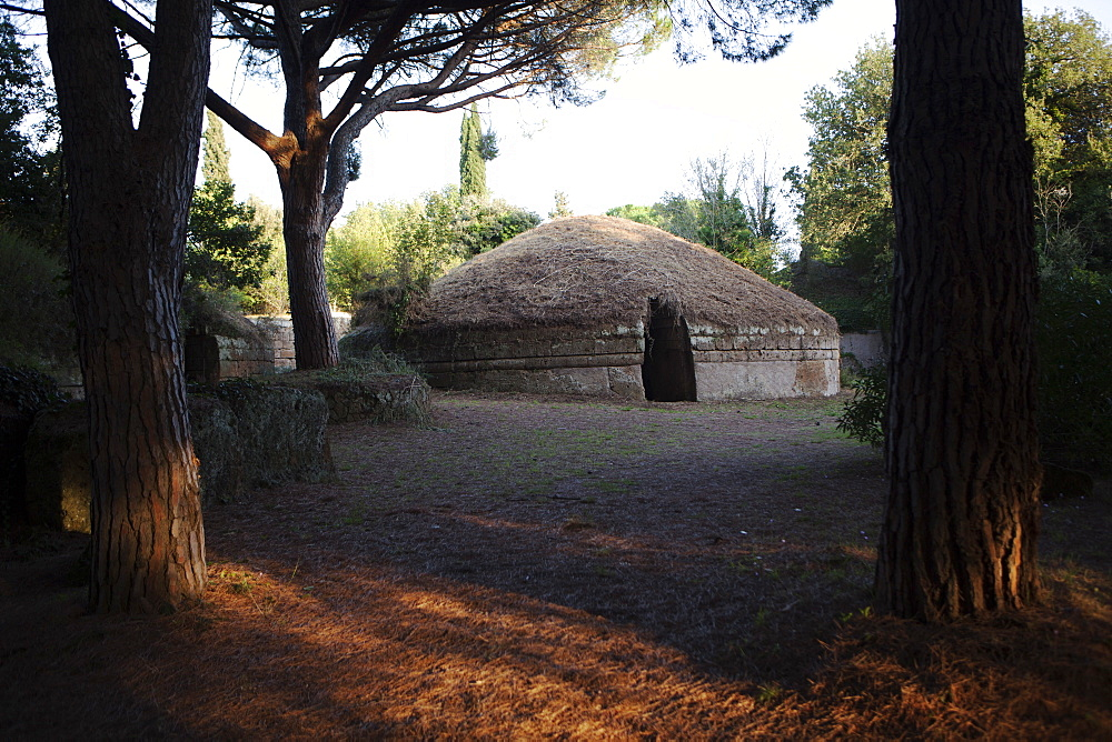 The Necropolis of Cerveteri, UNESCO World Heritage Site, Lazio, Italy, Europe