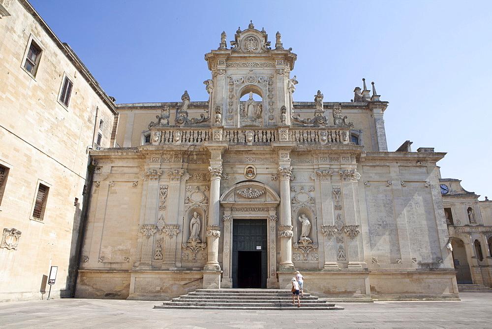 Basilica di Saint Oronzo, Lecca, Pulia, Italy, Europe - 739-1343