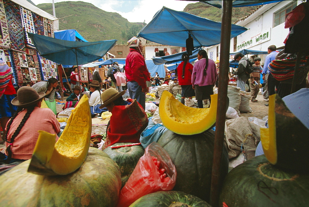 Market, Cuzco, Peru, South America - 739-222