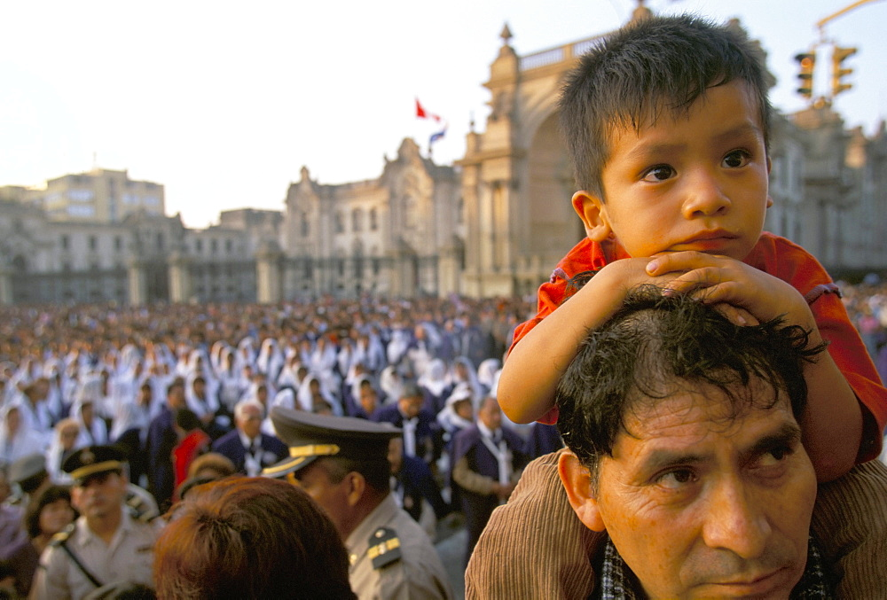 Easter Sunday, Lima, Peru, South America - 739-318