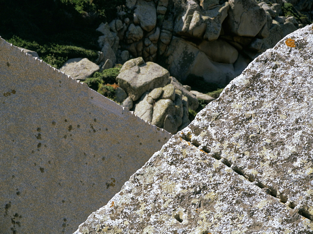 Roman granite, the Moon Valley, island of Sardinia, Italy, Mediterranean, Europe