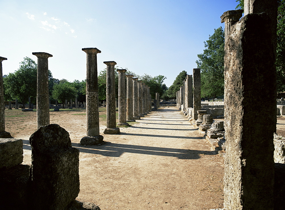 Olympia, UNESCO World Heritage Site, Greece, Europe