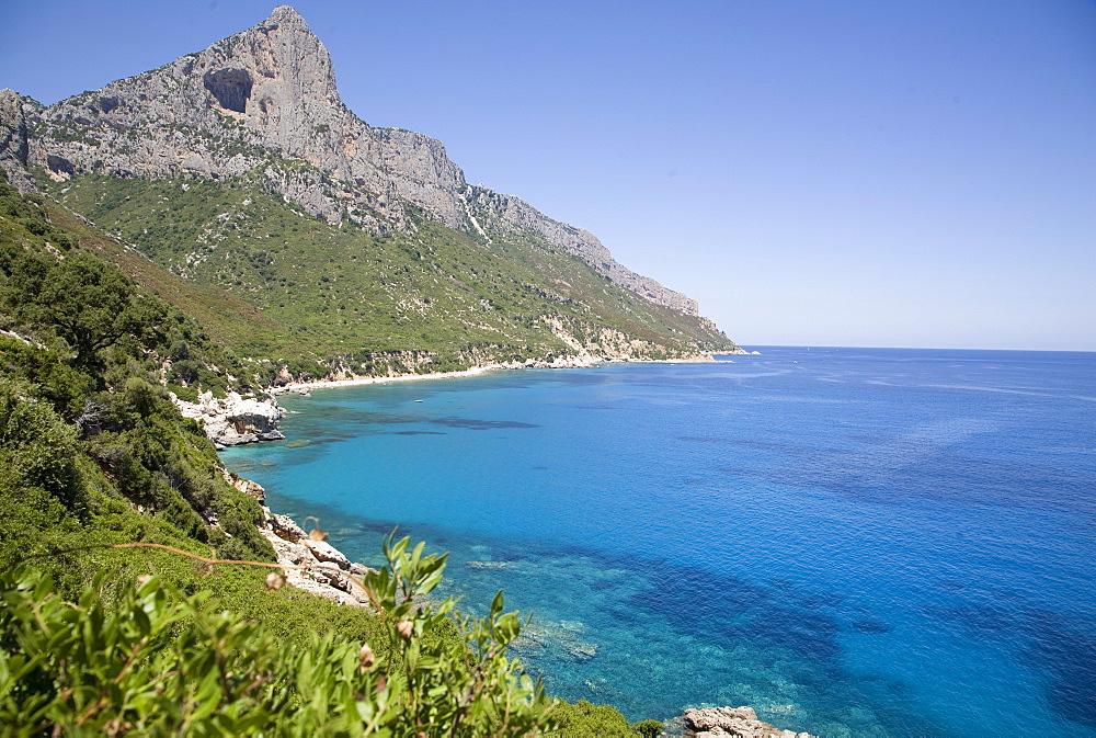 The Gulf of Orosei, near Santa Maria Navarrese, Sardinia, Italy, Mediterranean, Europe