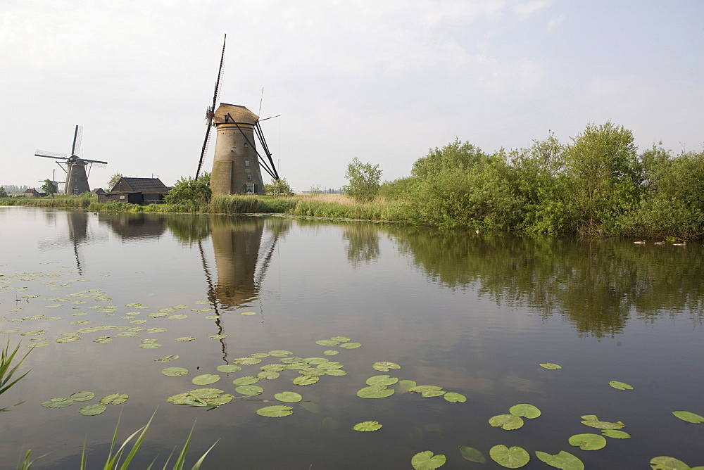 Kinderdijk windmills, Holland, Europe