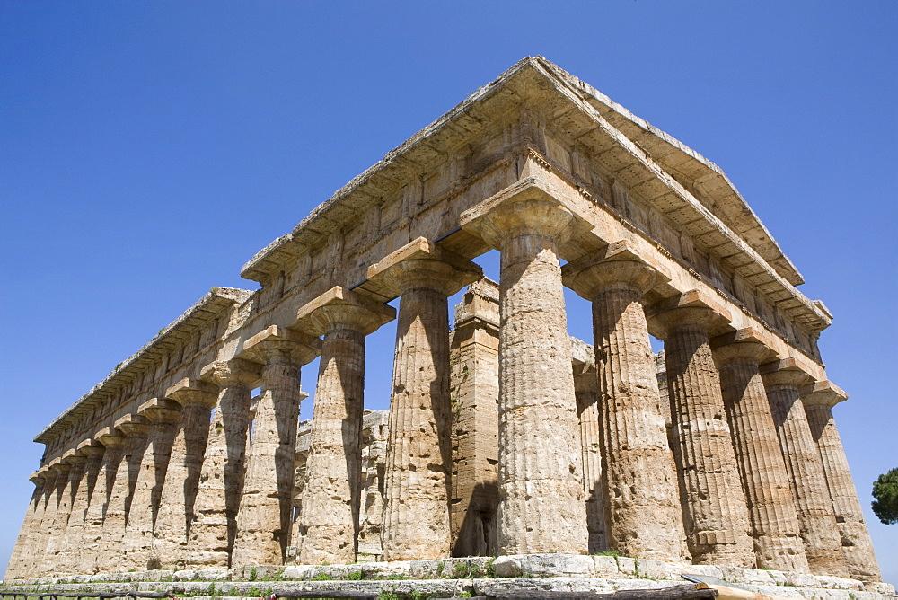 Temple of Neptune, Paestum, UNESCO World Heritage Site, Campania, Italy, Europe
