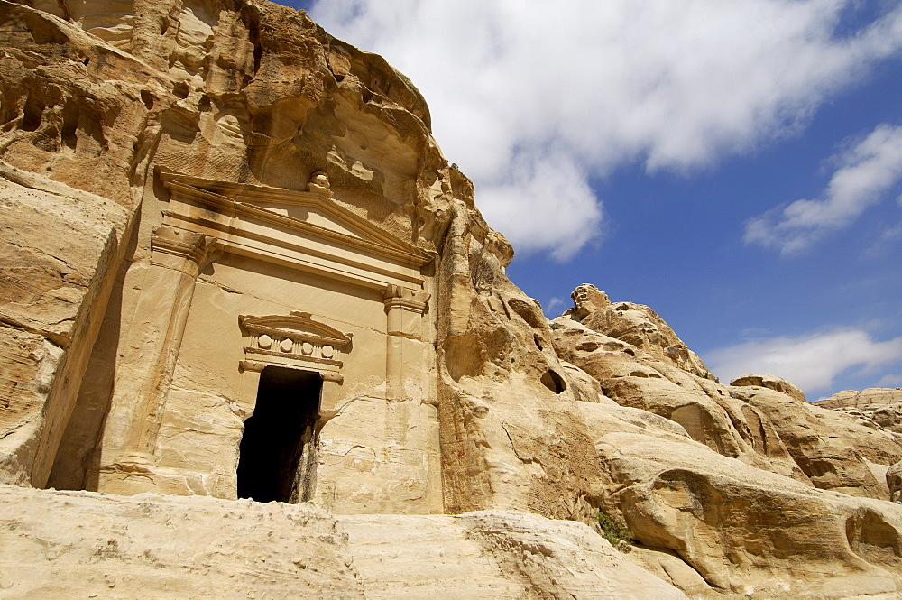 Beida, also known as Little Petra, Jordan, Middle East