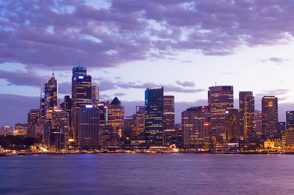 City skyline, Sydney, New South Wales, Australia, Pacific