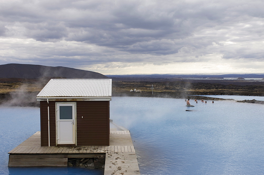 Geothermal hot spring, Reykjahlid, Iceland, Polar Regions
