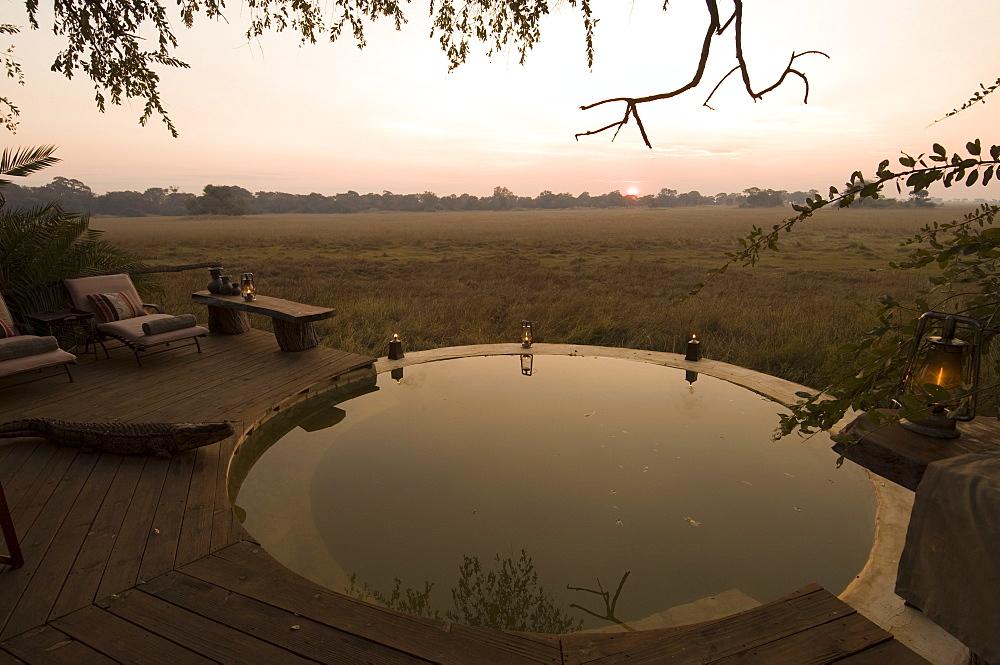 Kapinga Camp, Busanga Plains, Kafue National Park, Zambia, Africa