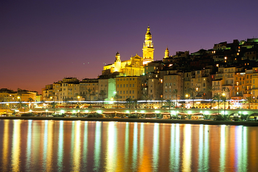 Menton, Cote d'Azur, Alpes-Maritimes, Provence, French Riviera, France, Mediterranean, Europe - 741-367