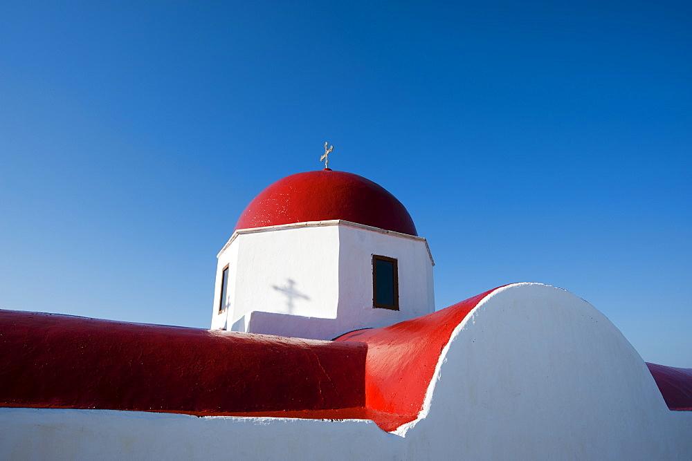 Panagia Tourliani Monastery, Ano Mera, Mykonos, Cyclades, Greek Islands, Greece, Europe