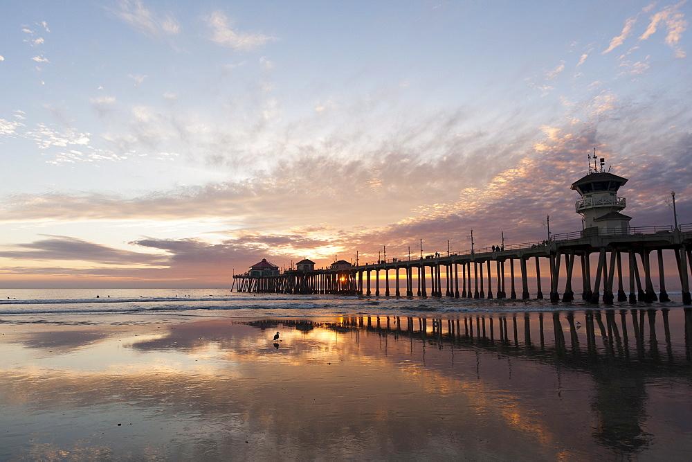 Huntington Beach Pier, California, United States of America, North America