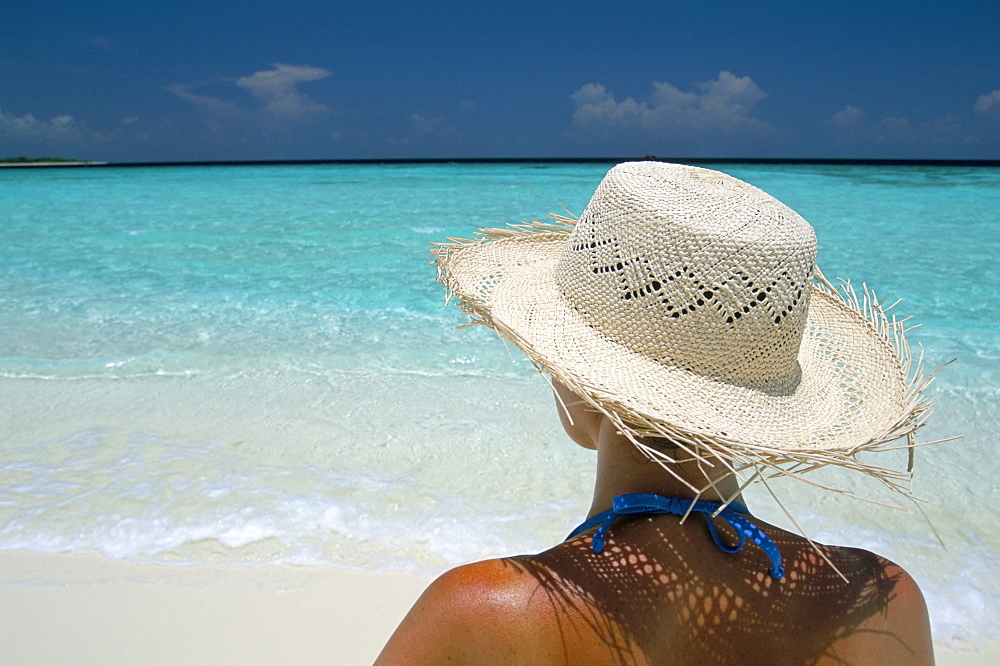 Sandbar near Kunfunadhoo Island, Baa Atoll, Maldives, Indian Ocean, Asia