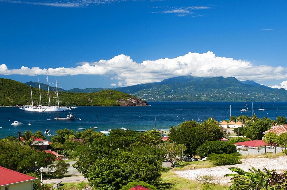 Le Bourg, Iles des Saintes, Terre de Haut, Guadeloupe, West Indies, French Caribbean, France, Central America