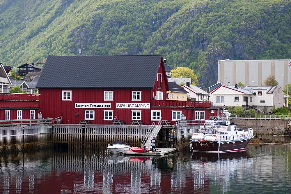 Svolvaer, Lofoten Islands, Norway, Scandinavia, Europe
