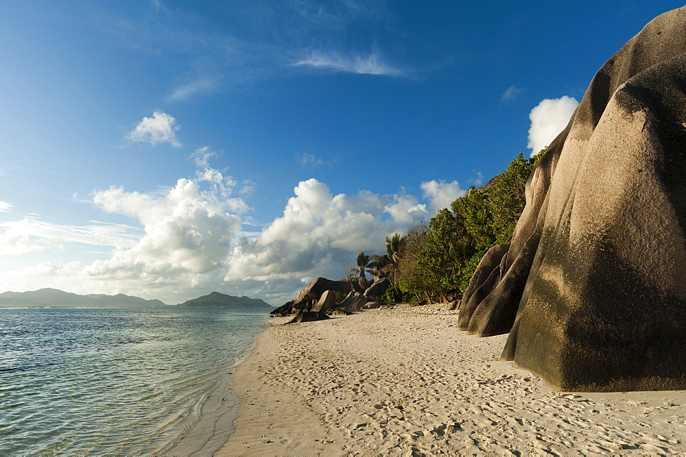 Anse Source d'Argent beach, La Digue, Seychelles, Indian Ocean, Africa