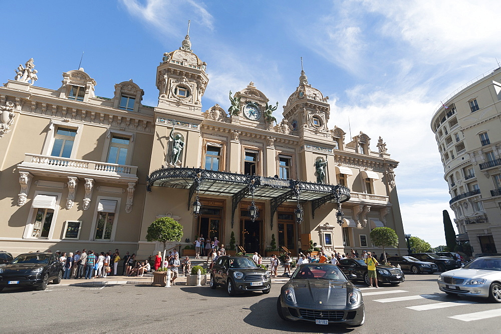 Casino, Monte Carlo, Principality of Monaco, Europe