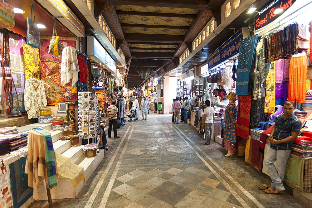 Muttrah souk, Muscat, Oman, Middle East