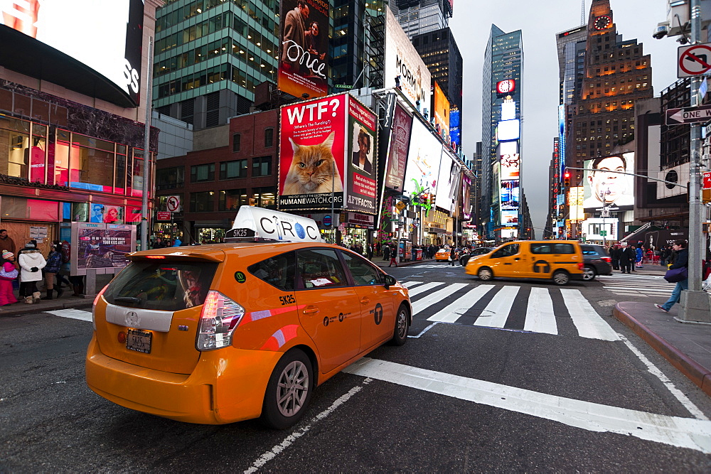 Times Square, New York City, United States of America, North America