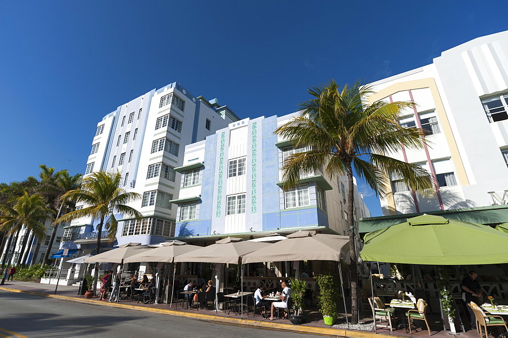 Ocean Drive, South Beach, Miami Beach, Florida, United States of America, North America