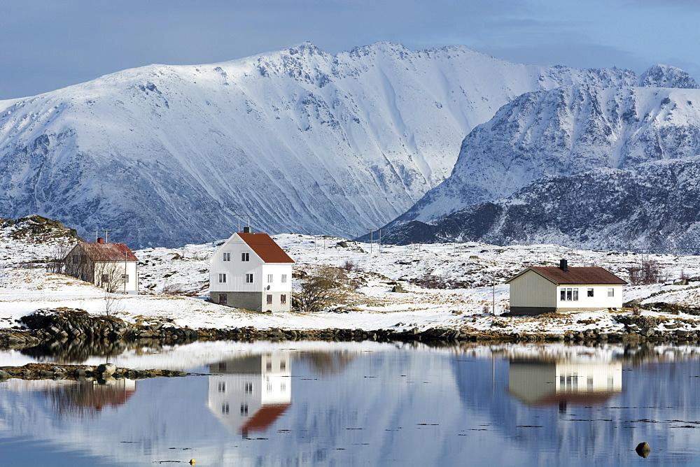 Eggum, Lofoten Islands, Arctic, Norway, Scandinavia, Europe