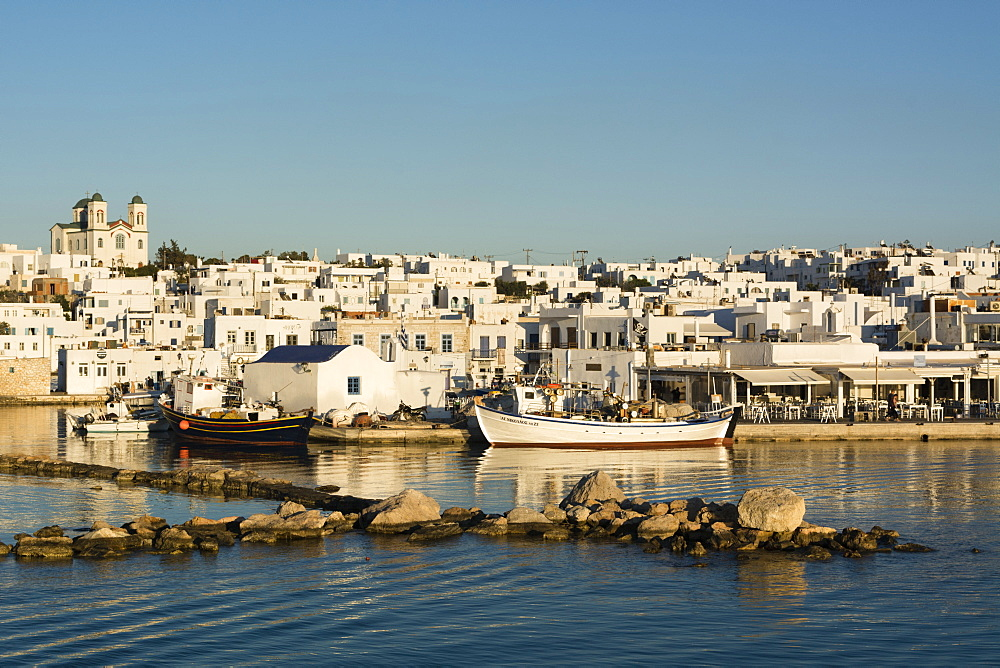 Naousa, Paros island, Southern Aegean sea, Cyclades, Greek Islands, Greece, Europe