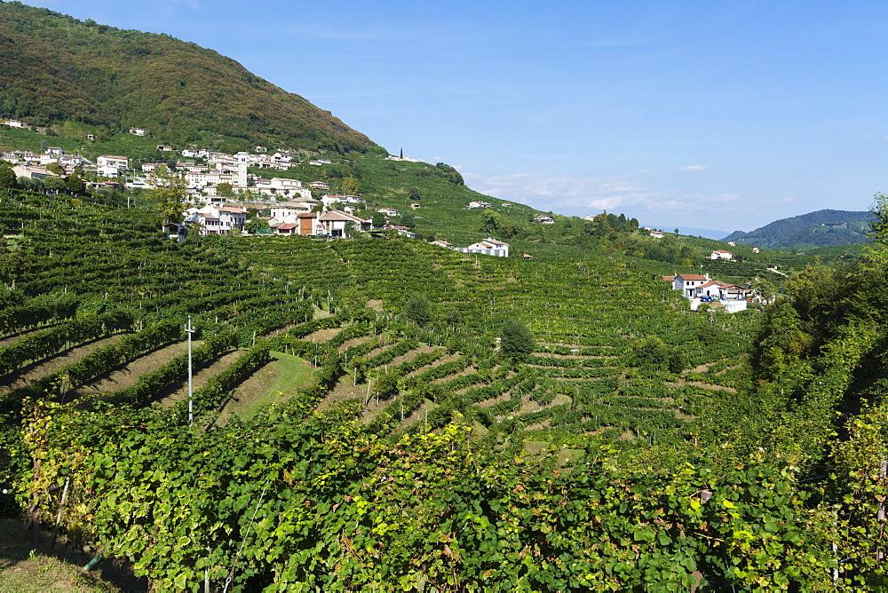 Santo Stefano di Valdobbiadene, Valdobbiadene, Veneto, Italy, Europe