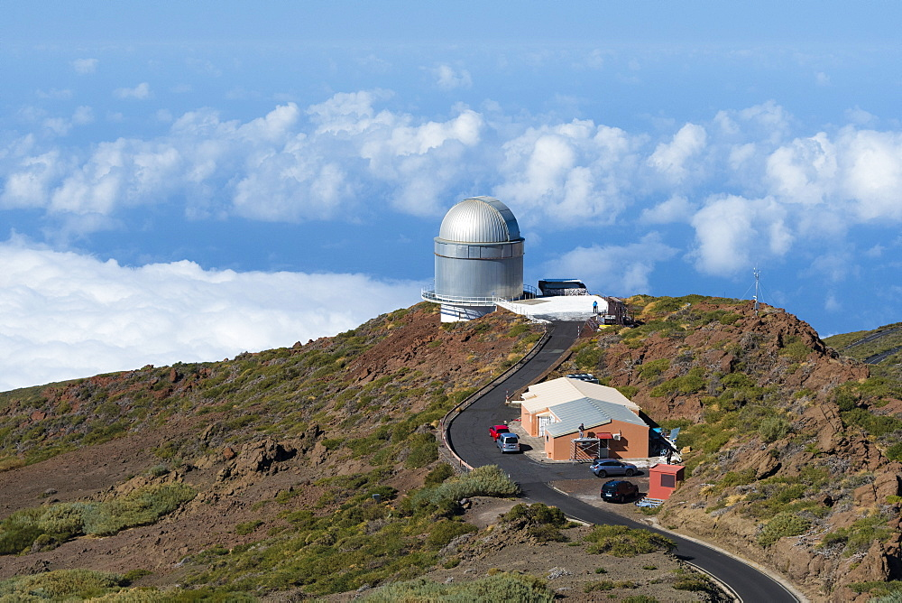 Roque de los Muchachos Observatory, La Palma Island, Canary Islands, Spain, Europe